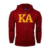 Champion Cardinal Fleece Full Zip Hood-KA