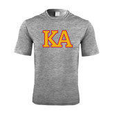 Performance Grey Heather Contender Tee-Two Color KA