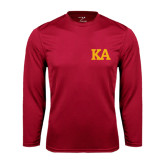 Syntrel Performance Cardinal Longsleeve Shirt-KA