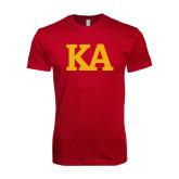 Next Level SoftStyle Cardinal T Shirt-KA