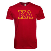 Next Level SoftStyle Cardinal T Shirt-Two Color KA