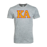 Next Level SoftStyle Heather Grey T Shirt-Two Color KA