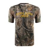 Realtree Camo T Shirt-Arched Kappa Alpha Order