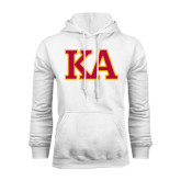 White Fleece Hoodie-Two Color KA