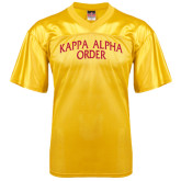 Replica Gold Adult Football Jersey-Arched Kappa Alpha