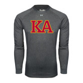 Under Armour Carbon Heather Long Sleeve Tech Tee-Two Color KA