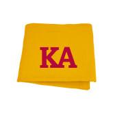 Gold Sweatshirt Blanket-KA