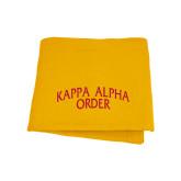 Gold Sweatshirt Blanket-Arched Kappa Alpha Order