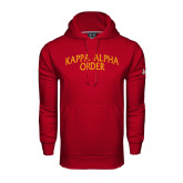 Under Armour Cardinal Performance Sweats Team Hoodie-Arched Kappa Alpha Order