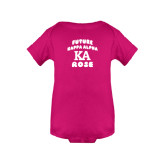 Fuchsia Infant Onesie-Future Kappa Alpha Rose