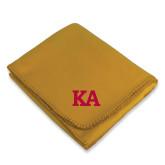 Gold Arctic Fleece Blanket-KA