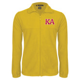 Fleece Full Zip Gold Jacket-Two Color KA