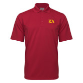 Cardinal Mini Stripe Polo-KA