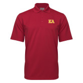 Cardinal Mini Stripe Polo-Two Color KA