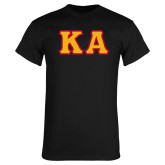 Black T Shirt-KA Tackle Twill, Tackle Twill
