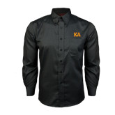 Red House Black Long Sleeve Shirt-Two Color KA