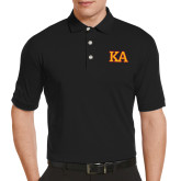 Callaway Tonal Black Polo-Two Color KA