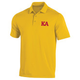 Under Armour Gold Performance Polo-KA