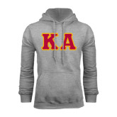 Grey Fleece Hoodie-KA Tackle Twill, Tackle Twill