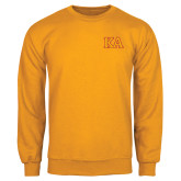 Gold Fleece Crew-Two Color KA