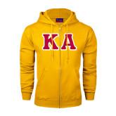 Champion Gold Fleece Full Zip Hood-KA Tackle Twill