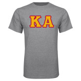 Grey T Shirt-KA Tackle Twill, Tackle Twill