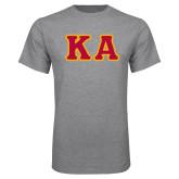 Grey T Shirt-KA Tackle Twill, Tackle Twill