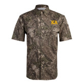 Camo Short Sleeve Performance Fishing Shirt-KA
