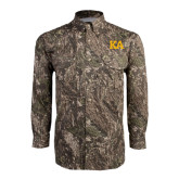 Camo Long Sleeve Performance Fishing Shirt-KA