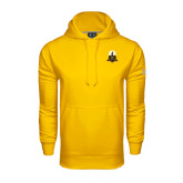 Under Armour Gold Performance Sweats Team Hoodie-Coat of Arms