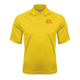 Gold Textured Saddle Shoulder Polo-Two Color KA
