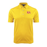 Gold Dry Mesh Polo-Two Color KA