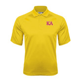 Gold Dri Mesh Pro Polo-Two Color KA