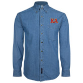 Denim Shirt Long Sleeve-Two Color KA