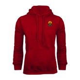 Cardinal Fleece Hoodie-Coat of Arms