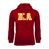 Cardinal Fleece Hoodie-KA Tackle Twill, Tackle Twill