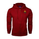 Champion Cardinal Fleece Full Zip Hood-Coat of Arms
