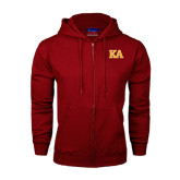 Champion Cardinal Fleece Full Zip Hood-Two Color KA