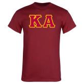 Cardinal T Shirt-KA Tackle Twill, Tackle Twill