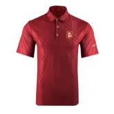 Nike Dri Fit Cardinal Embossed Polo-KA 150 Shield