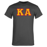 Charcoal T Shirt-KA Tackle Twill, Tackle Twill