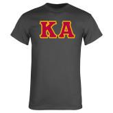 Charcoal T Shirt-KA Tackle Twill, Tackle Twill