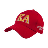 Red Heavyweight Twill Pro Style Hat-Two Color KA
