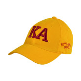 Gold Twill Unstructured Low Profile Hat-KA