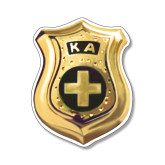 Small Magnet-KA Shield Emblem, 6 inches tall