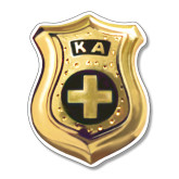 Large Magnet-KA Shield Emblem, 12 inches tall