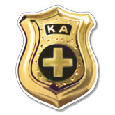 Extra Large Magnet-KA Shield Emblem, 18 inches tall