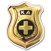 Super Large Magnet-KA Shield Emblem, 24 inches tall