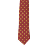 Traditional Silk Tie-Crimson Tie