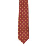 Traditional Silk Tie-Crimson Tie